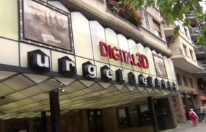 VÍDEO: Comiat al cine Urgell de Barcelona
