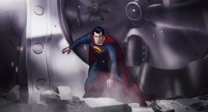 Versió animada de Henry Cavill com a Superman a 'Man of Steel'