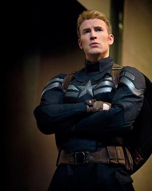 Chris Evans com a Capità Amèrica