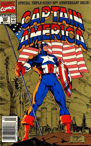 El capità amèrica i la bandera