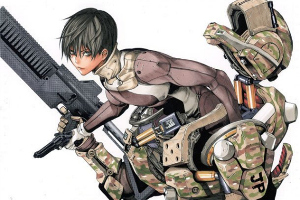dibuix d'Obata pel manga All You Need Is Kill