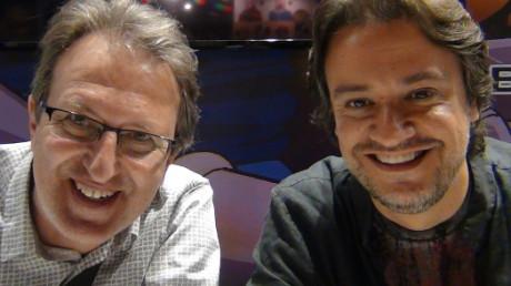 Entrevista a Marc Zanni i Joan Sanz, Goku i Vegeta a 'Bola de Drac Z&#8217...