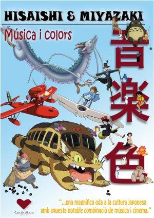 Cartell del concert Hisaishi Miyazaki