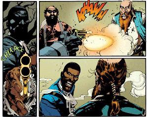 imatge còmic 'Django Desencadenado'