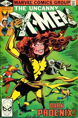 portada Fénix Oscura X-Men