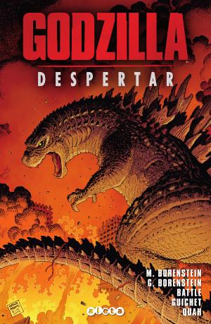 portada de Godzilla Despertar
