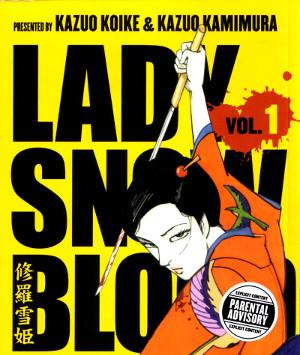 portada de Lady Snowblood