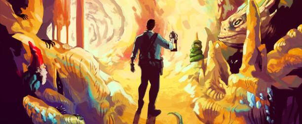 'Colossal Cave Adventure', el joc de 'Halt and Catch Fire'