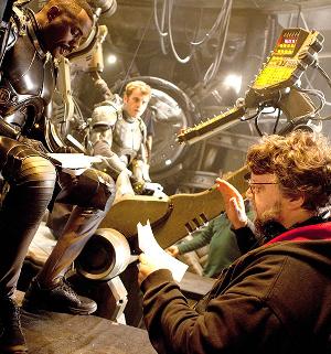 Guillermo del Toro al rodatge de Pacific Rim Pantalla.cat