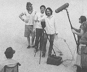 El director Joan Frank Charanssonet al rodatge d'ÀnimA