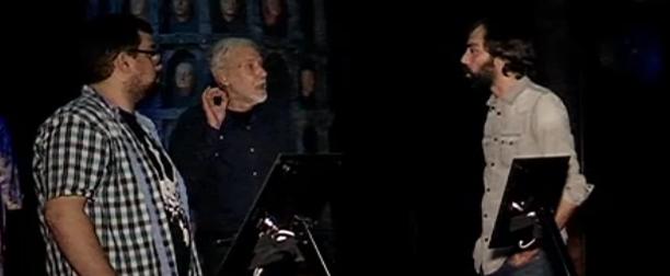 Alejo Cuervo i David Canto, a l'exposició de 'Joc de Trons' a Barcelona